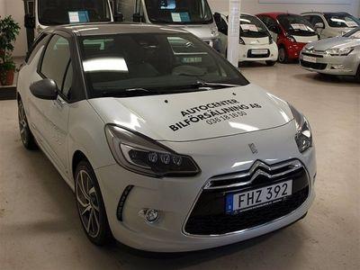 begagnad Citroën DS3 1,6 e-HDI SOIRRESIRTIBEL