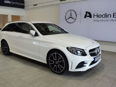 brugt Mercedes 220 C-Klassd 4-Matic DEMO AMG, Premiumpaket, Adaptiv Farthållare, Drag