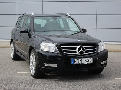 begagnad Mercedes GLK220 CDI 4MATIC BlueEFFICIEN -11