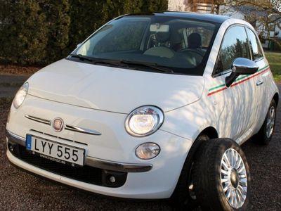 begagnad Fiat 500 1.2 Lounge 69hk Panorama -12