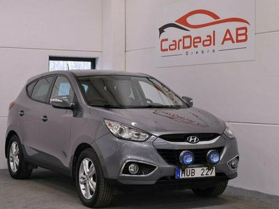 begagnad Hyundai ix35 1.7 CRDi 116hk *Drag *Motorvärmare *P-Sensorer