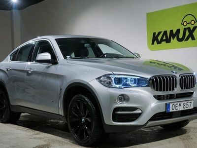 begagnad BMW X6 xDrive 40d Night Vision H/K 313hk