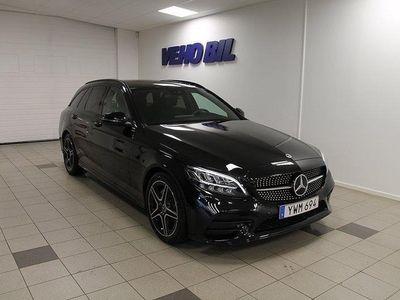 begagnad Mercedes C220 d Kombi AMG Navi Drag Bur