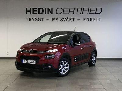 begagnad Citroën C3 1.2 VTi 82HK SHINE *V - HJUL*