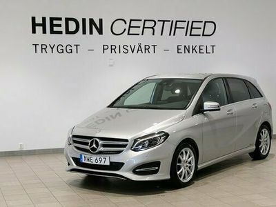 begagnad Mercedes B180 - BenzSE EDITION / DRAGKROK / BACKKAMERA
