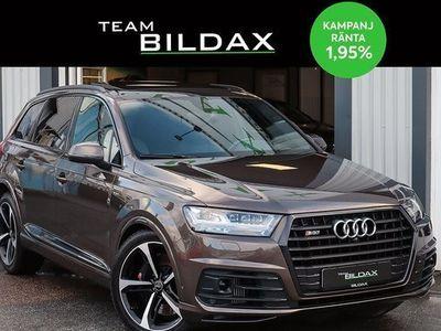 begagnad Audi SQ7 TDI Q COCKPIT VÄRMARE PANORAMA 7-SITS 1 2017, SUV Pris 578 000 kr