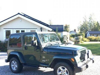 begagnad Jeep Wrangler 4.0 Sahara 176hk 4WD -04