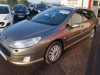 begagnad Peugeot 407 2,0 HDI/Auto/Ny Bes/Ny servad/Dra -07