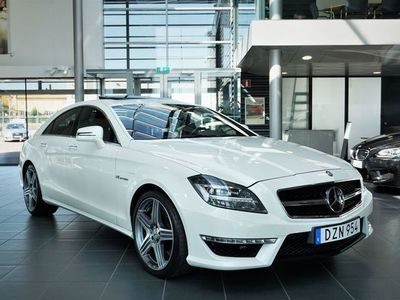 begagnad Mercedes CLS63 AMG AMG 4M 525hk Speedshift