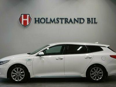 begagnad Kia Optima Hybrid Sport Wagon Plug-in 205hk Adv Plus H/K S&V