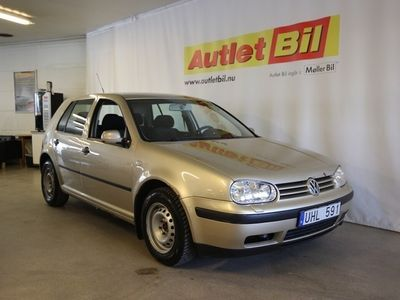 begagnad VW Golf 1,6 5-D M+K