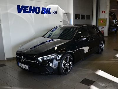 begagnad Mercedes A180 d 7G-DCT Euro 6 116hk, Se Edition, Night Package, Apple Ca