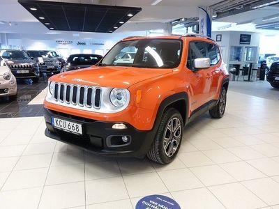 begagnad Jeep Renegade 2.0 CRD 4WD Limited AT9 140hk