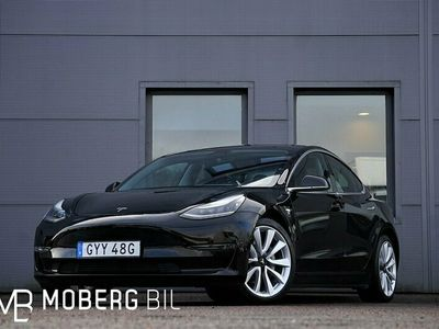 begagnad Tesla Model 3 Long Range AWD 431hk Autopilot Pano LEASBAR