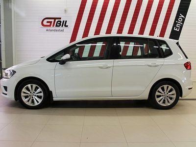 begagnad VW Golf Sportsvan 1.6 TDI DSG Navi Eu6 110hk
