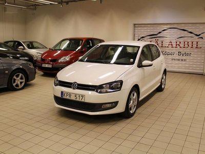 begagnad VW Polo 1.4TSI AUX NYBESIKTAD AC SVEN -10