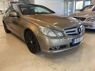 begagnad Mercedes E250 204hk CDI Coupé 5G-Tronic