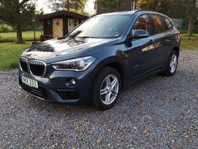 begagnad BMW X1 20d xDrive Aut Sport Line Drag Back -17