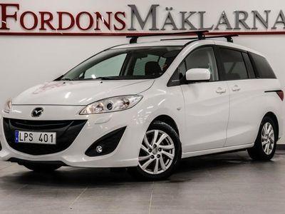 begagnad Mazda 5 2,0 7-SITS VÄRMARE FRI HEMLEVERANS