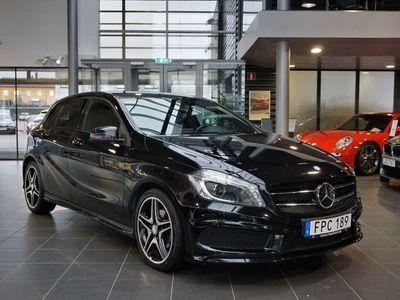 begagnad Mercedes 180 A-KLASSCDI AMG Night Package