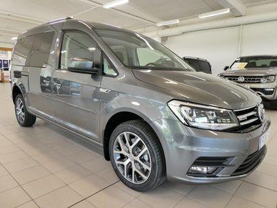 begagnad VW Caddy Maxi Life Comfortline TDI 150Hk DSG 4Motion