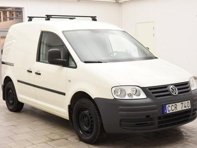 begagnad VW Caddy 2.0 Ecofuel Skåp 109hk M-VÄRM / DRAG