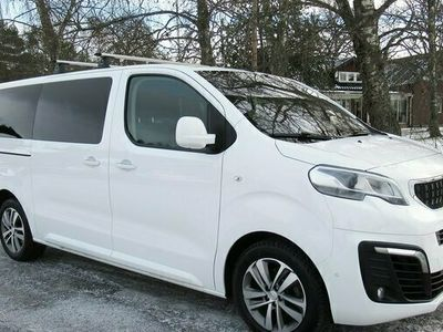begagnad Peugeot Traveller 177 HDI Automat 6-sitsig med Skinnfåtöljer 2017, Transportbil Pris 318 750 kr