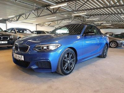 begagnad BMW M240 i Cab Steptronic Euro 6 340hk