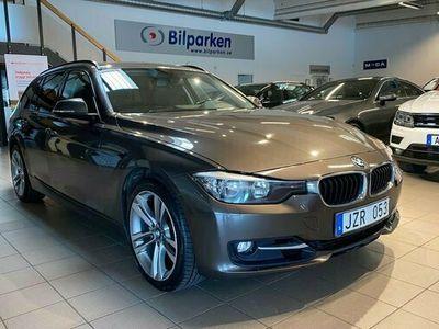 begagnad BMW 330 d xDrive Touring Navi Skinn Elstol Sport line 2014, Kombi Pris 199 900 kr