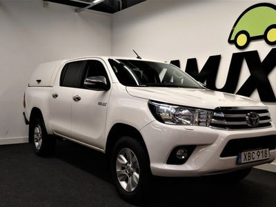 begagnad Toyota HiLux Double cab | 2.4 AWD | Backkamera | Drag |