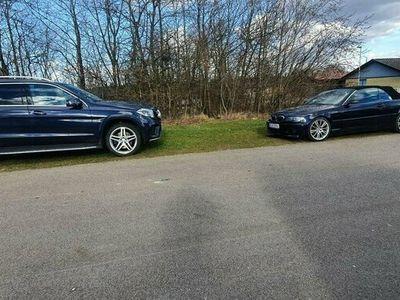 begagnad Mercedes GLS350 Bmw 325 cab auto