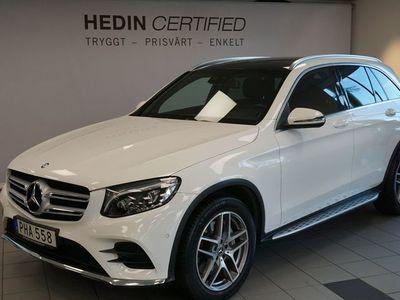 begagnad Mercedes GLC220 220 D 4MATIC // AMG LINE // Parkeringsvärmare