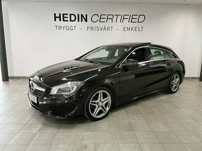 begagnad Mercedes CLA200 Shooting Brake - Benz AMG / / Panorama / / Minnesstolar / / Läder