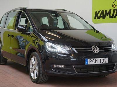gebraucht VW Sharan 2.0 TDI Premium 7-sits D-värm Drag 150hk