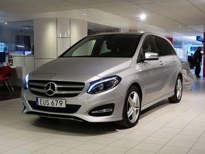 begagnad Mercedes B200 CDI 4MATIC 7G-DCT EURO 6 136hk PDC V-HJUL