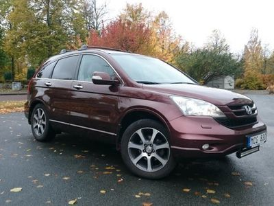 begagnad Honda CR-V Diesel Executive -12