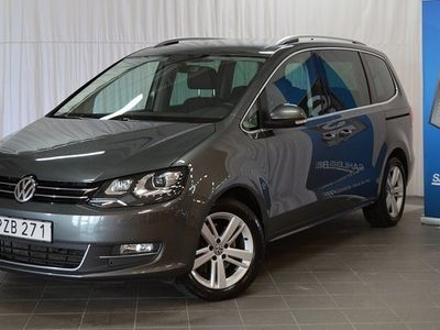 begagnad VW Sharan 2.0 TDI 184hk 4WD Automat ( 7-Sits ) Premium