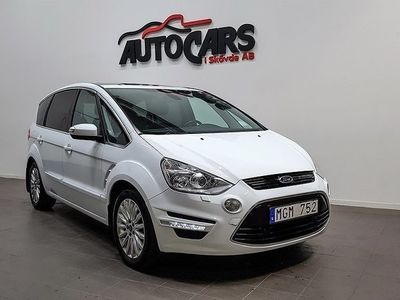 begagnad Ford S-MAX 2.2 TDCi Business | 7 sits | Panorama