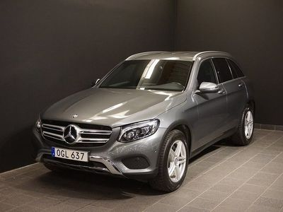 begagnad Mercedes GLC220 d 4M 220d 4MATIC Värmare Drag Navi Backkamera