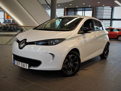 begagnad Renault Zoe 109 hk 41 kWh Bose batterihyra II