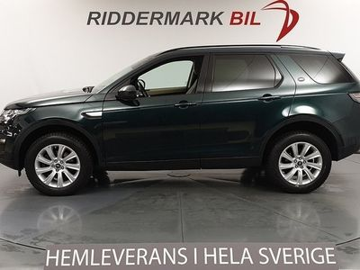 begagnad Land Rover Discovery Sport 2.2 SD4 4WD HSE 190hk Skinn Navi
