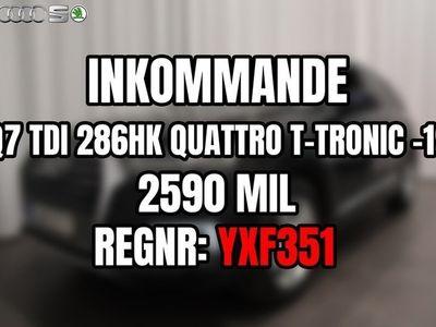 begagnad Audi Q7 TDI 286hk Quattro TipTronic S-Line