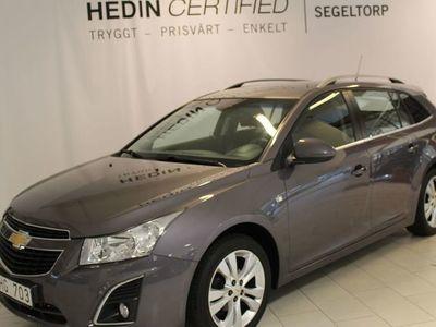 begagnad Chevrolet Cruze 1,4T 140HK COMBI S+V-HJUL
