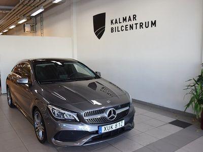 begagnad Mercedes CLA180 Shooting Brake 7G-DCT AMG Panorama tak Euro 6 122hk