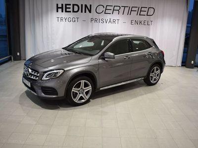 begagnad Mercedes GLA200 // Integration av smartphone // Dragkrok // AMG line