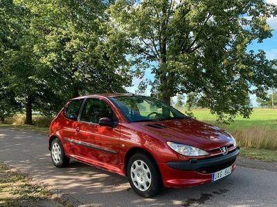 begagnad Peugeot 206 3-dörrar 1.4 X-Line 2004, Sedan 15 500 kr