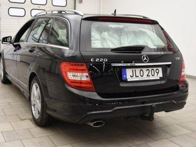begagnad Mercedes C220 CDI 170hk EDITION C / AUT / D-VÄRME