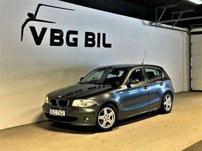 begagnad BMW 120 d Steptronic Advantage Comfort 163hk
