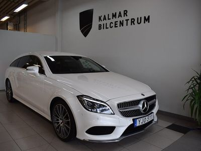 begagnad Mercedes CLS350 Shooting Brake d 4MATIC 9G-Tronic AMG Sport Euro 6 258hk