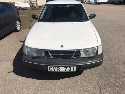 begagnad Saab 900 i låg mil ny besiktad med 90000 mil